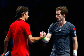 Roger Federer Andy Murray Barclays ATP World Tour Finals: Day 5