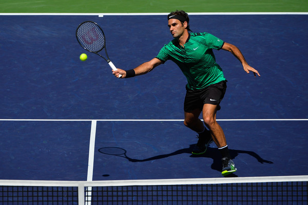Roger Federer Tames Sock To Book Wawrinka Showdown In Indian Wells