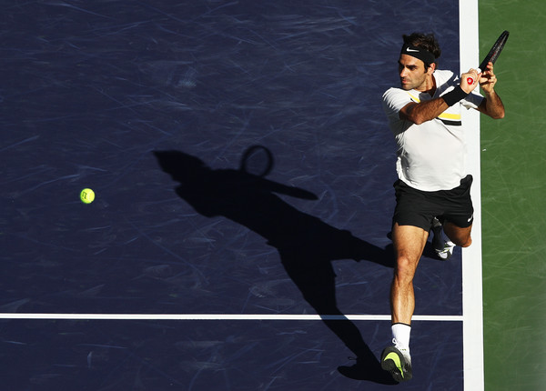 Ruthless Roger Federer Races Into Last 16 At Indian Wells
