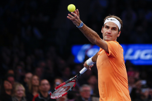 Roger+Federer+BNP+Paribas+Showdown+WPL7S