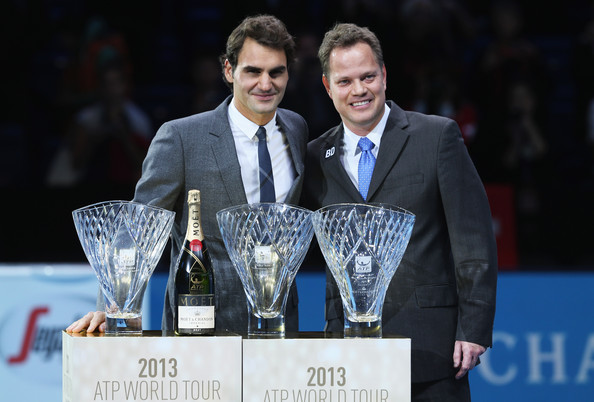 Roger Federer - Barclays ATP World Tour Finals: Day 3