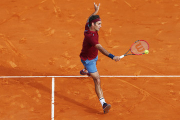 Roger Federer ATP Masters Series: Monte Carlo Rolex Masters - Day Five
