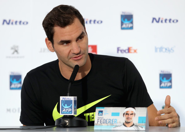 Roger Federer Declares 'Full Steam Ahead' As He Hits Back At Critics Of The ATP Finals