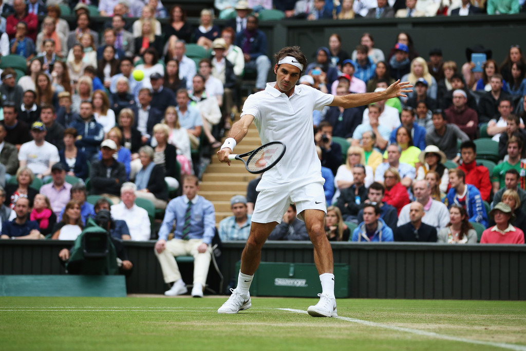 Roger+Federer+Wimbledon+Day+4+AiByjHQoxu