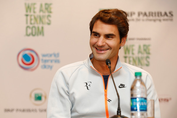 Roger+Federer+World+Tennis+Day+Welcome+R