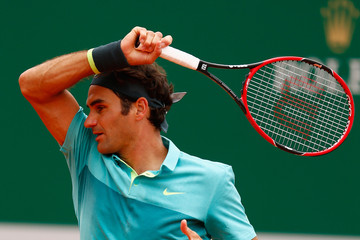 Roger Federer ATP Masters Series: Monte Carlo Rolex Masters - Day Four