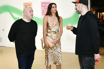 Roger Gastman Entertainment Execs & Celebrities Attend The Epiphany Collective VIP Art Preview For Beyond The Streets In The Hamptons