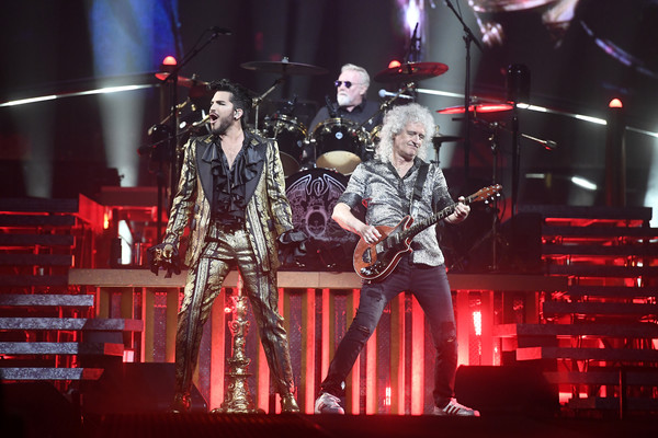 Roger Taylor and Brian May Photos Photos - Queen In Concert