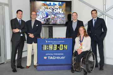 Roland Enderli TAG Heuer New York Marathon Awards