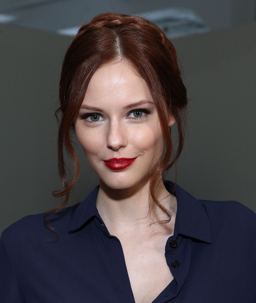 Alyssa Campanella Rolando Santana - Front Row - Mercedes-Benz Fashion Week Spring 2015
