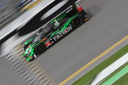 The #2 Tequilla Patron Honda HPD ARX driven by Ed Brown, Johannes van Overbeek and Jon Fogarty on track during practice for the Rolex 24 At Daytona at Daytona International Speedway on January 22, 2015 in Daytona Beach, Florida.
