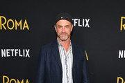 """Christopher Meloni attends the """"Roma"""" New York screening at DGA Theater on November 27, 2018 in New York City."""