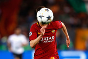 Stephan El Shaarawy of AS Roma chases down the ball during the UEFA Champions League Semi Final Second Leg match between A.S. Roma and Liverpool at Stadio Olimpico on May 2, 2018 in Rome, Italy.
