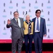 Roman Coppola Director Francis Ford Coppola Takes Part in Hand and Footprint Ceremony