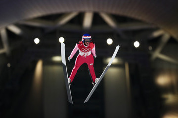 Roman Koudelka Ski Jumping - Winter Olympics Day 1