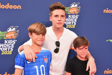 Romeo Beckham Nickelodeon Kids' Choice Sports Awards 2015 - Red Carpet