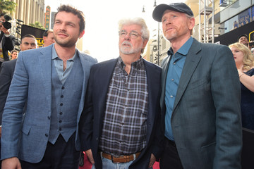Ron Howard Alden Ehrenreich Stars And Filmmakers Attend The World Premiere Of 'Solo: A Star Wars Story' In Hollywood