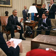 Ron Klain Barack Obama Meets with Ebola Response Coordinator