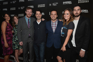 Ron Livingston Joe Swanberg 'Drinking Buddies' Premieres in Hollywood — Part 3