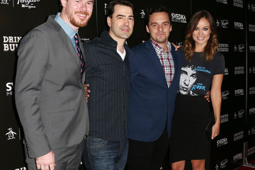 Ron Livingston Joe Swanberg 'Drinking Buddies' Premieres in Hollywood — Part 2