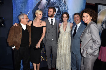 Ron Meyer Jeff Shell Premiere of Universal Pictures' 'The Huntsman: Winter's War' - Red Carpet
