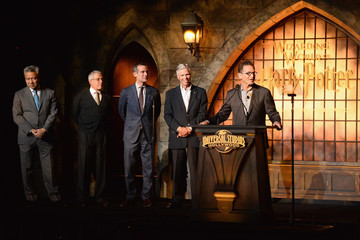 Ron Meyer Tom Williams Universal Studios Hollywood Hosts the Opening of 'The Wizarding World of Harry Potter' - Inside