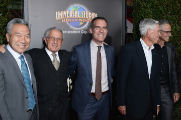 Ron Meyer Tom Williams Universal Studios Hollywood Hosts the Opening of 'The Wizarding World of Harry Potter' - Arrivals