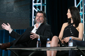Ronald D. Moore Caitriona Balfe 2016 Winter TCA Tour - Day 4