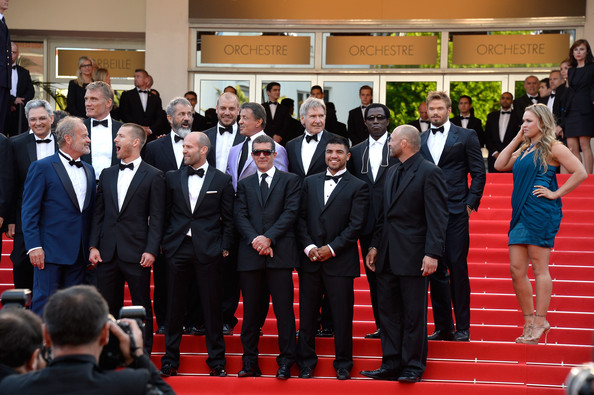 Harrison Ford Expendables 3 Premiere