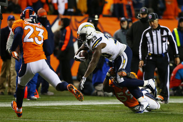 Ronnie Brown Divisional Playoffs - San Diego Chargers v Denver Broncos