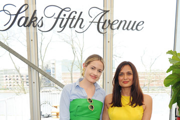 Roopal Patel Saks Fifth Avenue And Rosie Assoulin Luncheon At Frieze New York