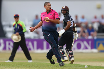 Rory Kleinveldt Northamptonshire v Surrey: Royal London One-Day Cup