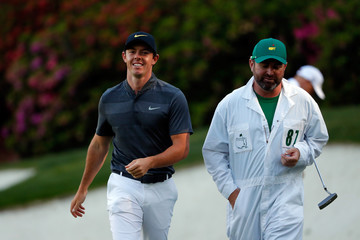 Rory McIlroy J-p Fitzgerald The Masters - Round One