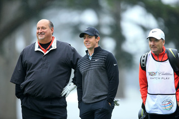 Rory McIlroy J-p Fitzgerald World Golf Championships-Cadillac Match Play - Preview Day 2