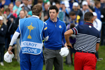 Rory McIlroy J-p Fitzgerald Singles Matches - 2014 Ryder Cup