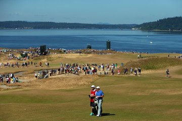 Rory McIlroy J-p Fitzgerald Golfers Compete at the U.S. Open, Round Three