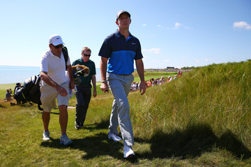 Rory McIlroy J-p Fitzgerald PGA Championship - Preview Day 2