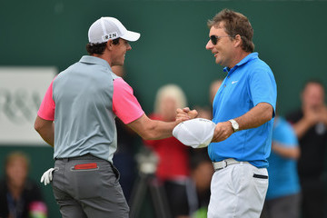 Rory McIlroy J-p Fitzgerald 143rd Open Championship - Round Four