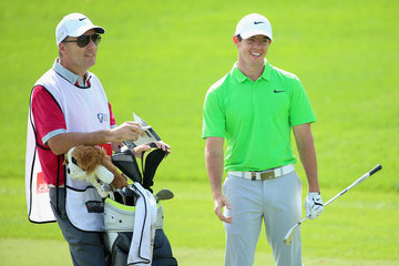 Rory McIlroy J-p Fitzgerald DP World Tour Championship - Day One