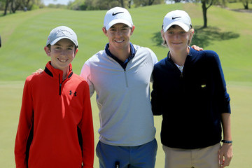 Rory McIlroy J-p Fitzgerald World Golf Championships-Dell Match Play - Preview Day 2