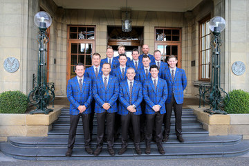 Rory McIlroy Victor Dubuisson 40th Ryder Cup Opening Ceremony