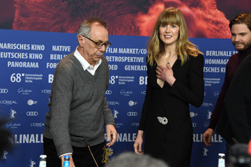 Rosamund Pike '7 Days in Entebbe' Press Conference - 68th Berlinale International Film Festival