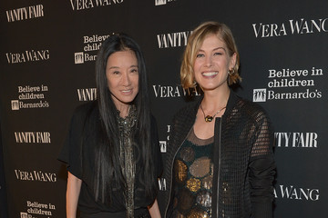 Rosamund Pike Vera Wang on Rodeo Drive Opening