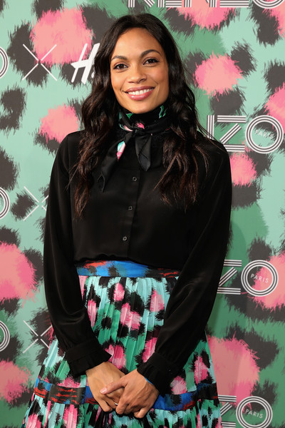 8fe3985a Rosario Dawson Photos Photos - KENZO x H&M Launch Event Directed by ...