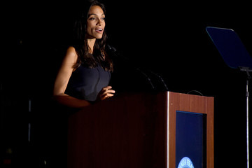 Rosario Dawson Friars Club Honors Tony Bennett With The Entertainment Icon Award - Inside
