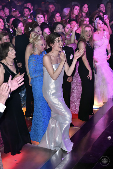 (VOICI, CLOSER, FRANCE DIMANCHE, ICI PARIS, ENTREVUE & PUBLIC OUT FOR FRANCE) (TABLOID OUT) Charlotte Casiraghi attends the Rose Ball 2014 in aid of the Princess Grace Foundation at Sporting Monte-Carlo on March 29, 2014 in Monte-Carlo, Monaco.