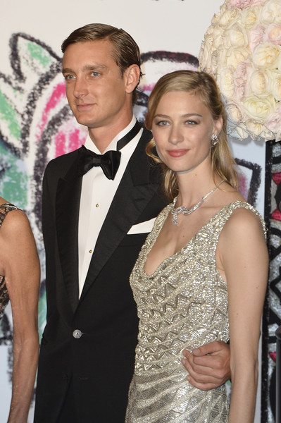 Pierre Casiraghi and Beatrice Borromeo attend the Rose Ball 2015 in aid of the Princess Grace Foundation at Sporting Monte-Carlo on March 28, 2015 in Monte-Carlo, Monaco.