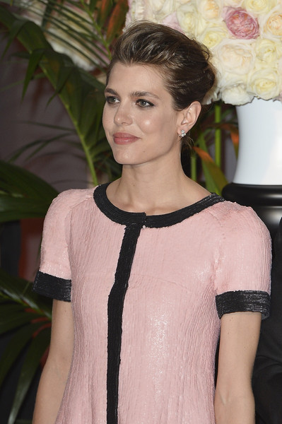 Charlotte Casiraghi attends the Rose Ball 2015 in aid of the Princess Grace Foundation at Sporting Monte-Carlo on March 28, 2015 in Monte-Carlo, Monaco.