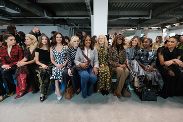 Rose Byrne Tiffany Haddish Michael Kors Collection Spring 2019 Runway Show - Front Row
