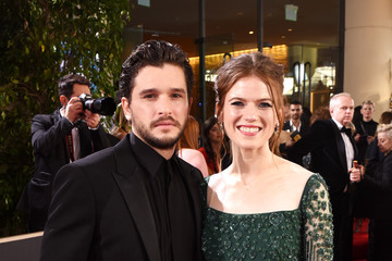 Rose Leslie Kit Harington Icelandic Glacial at the 77th Annual Golden Globe Awards On January 5, 2020 At The Beverly Hilton
